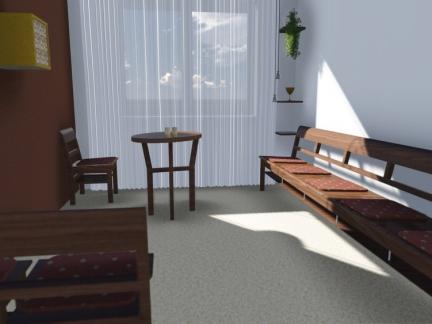 Návrh interiéru kaplnky