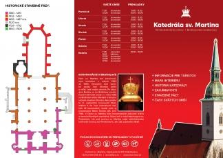 [:sk]Turistická brožúra – Katedrála sv. Martina [:]