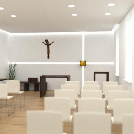 sakrálny interiér